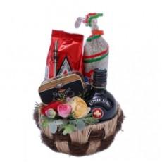 Unicumos Magyaros ajándékkosár