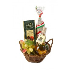 Kis magyaros ajándékkosár